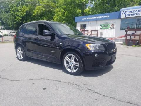 2013 BMW X3 for sale at AFFORDABLE IMPORTS in New Hampton NY