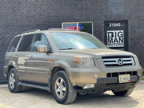 2008 Honda Pilot for sale at Big Man Motors in Farmington MN