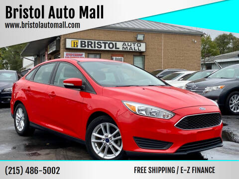 2015 Ford Focus for sale at Bristol Auto Mall in Levittown PA