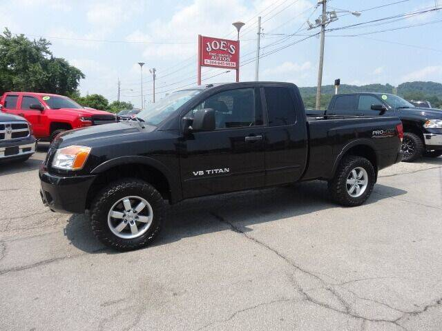 2010 Nissan Titan for sale at Joe's Preowned Autos in Moundsville WV