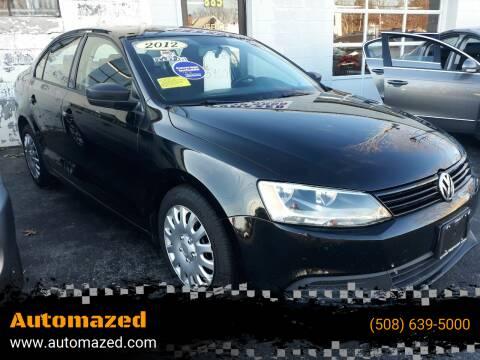 2012 Volkswagen Jetta for sale at Automazed in Attleboro MA
