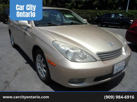 2002 Lexus ES 300 for sale at Car City Ontario in Ontario CA