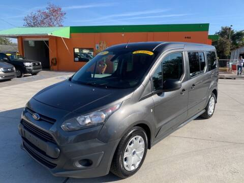2017 Ford Transit Connect Wagon for sale at Galaxy Auto Service, Inc. in Orlando FL