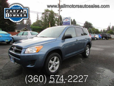 2011 Toyota RAV4 for sale at Hall Motors LLC in Vancouver WA