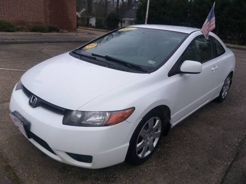 2007 Honda Civic for sale at Hilton Motors Inc. in Newport News VA