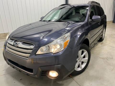 2014 Subaru Outback for sale at EUROPEAN AUTOHAUS, LLC in Holland MI