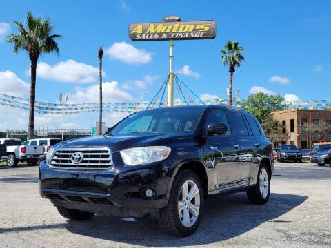2010 Toyota Highlander for sale at A MOTORS SALES AND FINANCE - 5630 San Pedro Ave in San Antonio TX