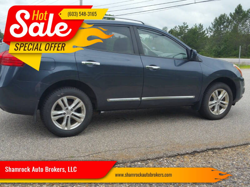2012 Nissan Rogue for sale at Shamrock Auto Brokers, LLC in Belmont NH