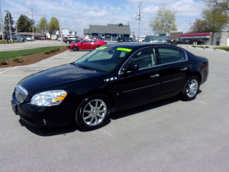 2008 Buick Lucerne for sale at Ideal Auto Sales, Inc. in Waukesha WI