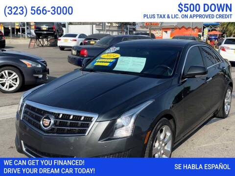 2014 Cadillac ATS for sale at Best Car Sales in South Gate CA