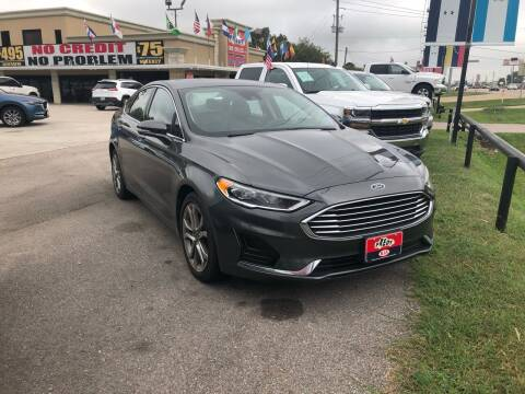 2019 Ford Fusion for sale at FREDY CARS FOR LESS in Houston TX