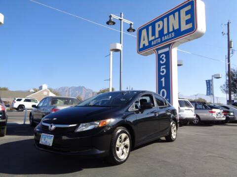 2014 Honda Civic for sale at Alpine Auto Sales in Salt Lake City UT