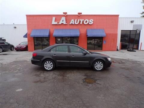 2009 Hyundai Sonata for sale at L A AUTOS in Omaha NE