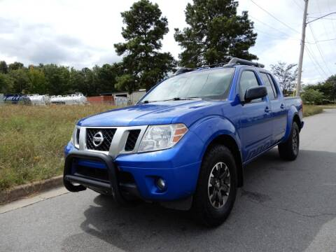 2015 Nissan Frontier for sale at United Traders Inc. in North Little Rock AR