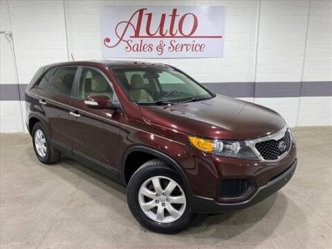 2012 Kia Sorento for sale at Auto Sales & Service Wholesale in Indianapolis IN