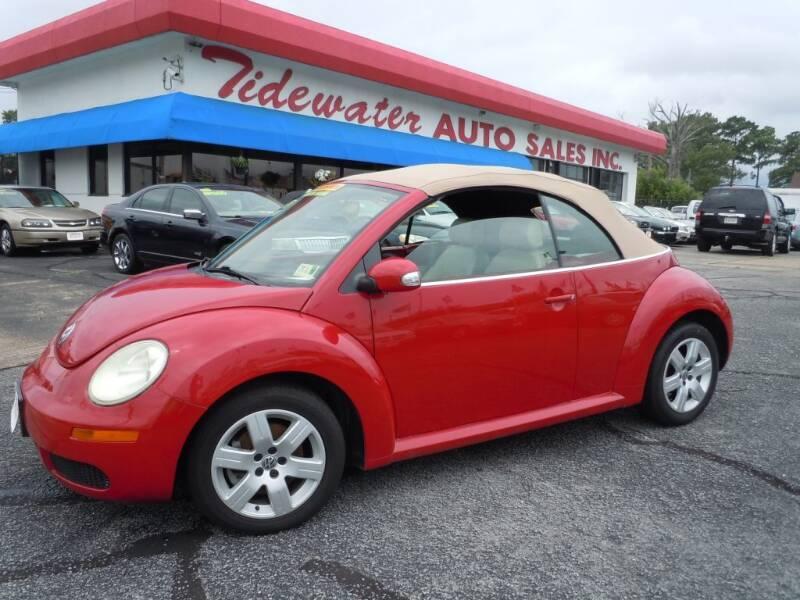 2007 Volkswagen New Beetle Convertible for sale in Norfolk, VA