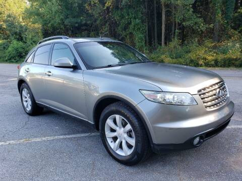 2005 Infiniti FX35 for sale at GA Auto IMPORTS  LLC in Buford GA