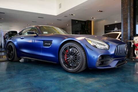 2020 Mercedes-Benz AMG GT for sale at OC Autosource in Costa Mesa CA