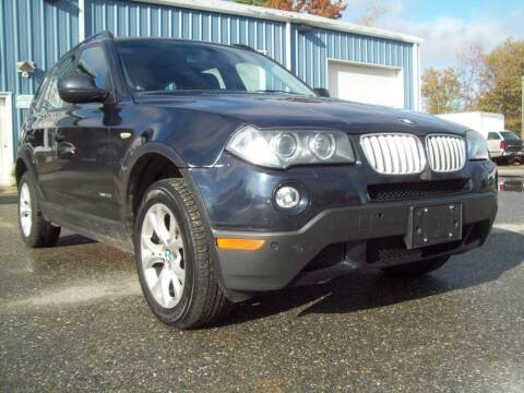 2010 BMW X3 for sale at Frank Coffey in Milford NH