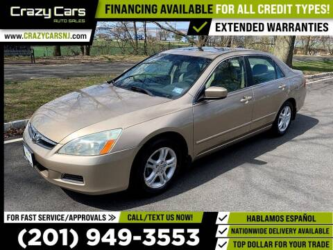 2006 Honda Accord for sale at Crazy Cars Auto Sale in Jersey City NJ