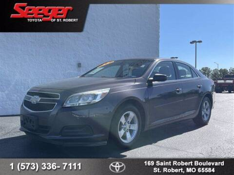 2013 Chevrolet Malibu for sale at SEEGER TOYOTA OF ST ROBERT in Saint Robert MO