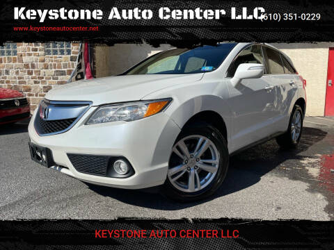 2014 Acura RDX for sale at Keystone Auto Center LLC in Allentown PA