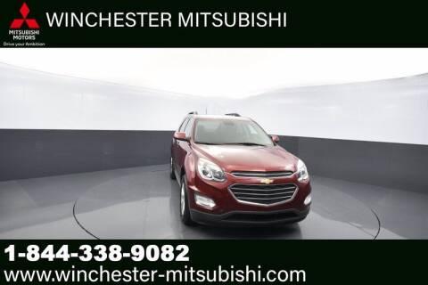 2017 Chevrolet Equinox for sale at Winchester Mitsubishi in Winchester VA