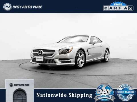 2014 Mercedes-Benz SL-Class for sale at INDY AUTO MAN in Indianapolis IN