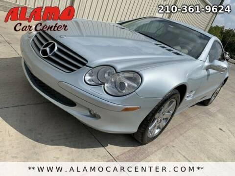 2003 Mercedes-Benz SL-Class for sale at Alamo Car Center in San Antonio TX