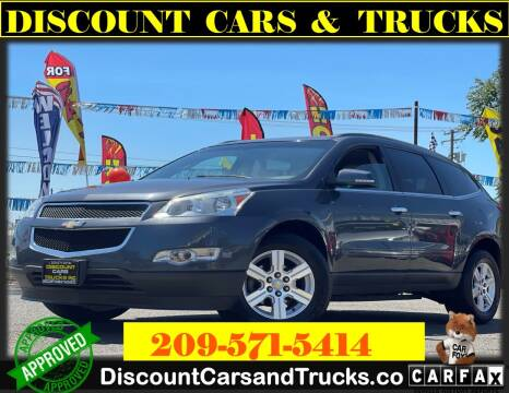 2012 Chevrolet Traverse for sale at Discount Cars & Trucks in Modesto CA