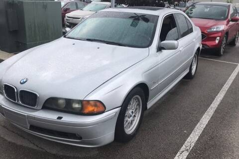 2002 BMW 5 Series for sale at WEINLE MOTORSPORTS in Cleves OH