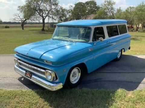 1965 Chevrolet Suburban for sale at STREET DREAMS TEXAS in Fredericksburg TX
