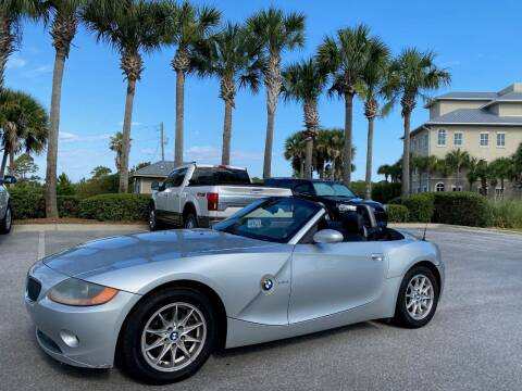 2004 BMW Z4 for sale at Gulf Financial Solutions Inc DBA GFS Autos in Panama City Beach FL