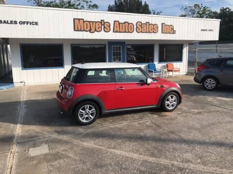 2013 MINI Hardtop for sale at Moye's Auto Sales Inc. in Leesburg FL