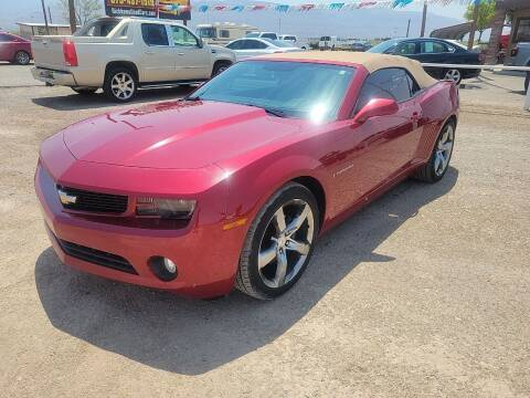 2012 Chevrolet Camaro for sale at Bickham Used Cars in Alamogordo NM