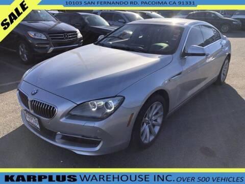 2014 BMW 6 Series for sale at Karplus Warehouse in Pacoima CA