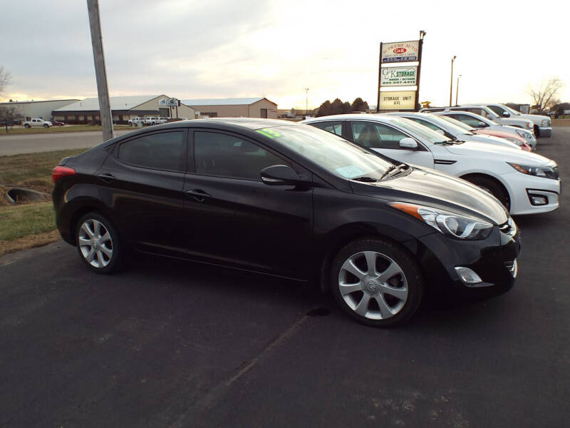 2013 Hyundai Elantra for sale at G & K Supreme in Canton SD