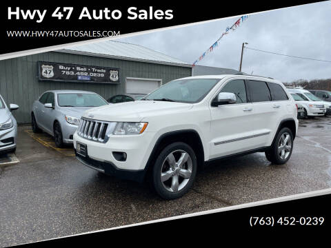 2012 Jeep Grand Cherokee for sale at Hwy 47 Auto Sales in Saint Francis MN