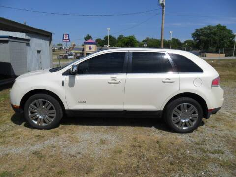 2008 Lincoln MKX for sale at C MOORE CARS in Grove OK