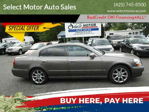 2005 Infiniti Q45 for sale at Select Motor Auto Sales in Lynnwood WA