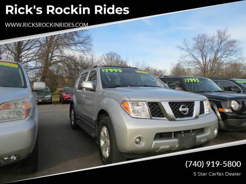 2005 Nissan Pathfinder for sale at Rick's Rockin Rides in Reynoldsburg OH