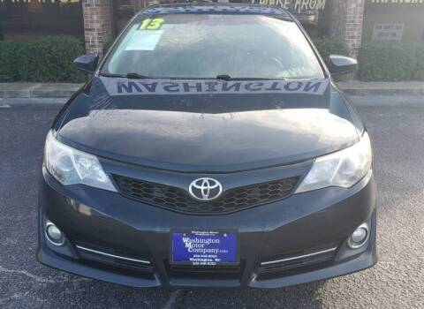 2013 Toyota Camry for sale at Greenville Motor Company in Greenville NC