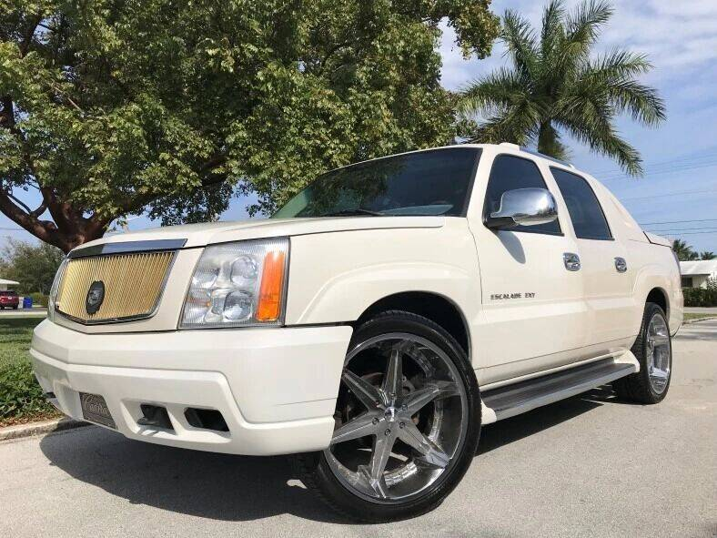 2002 Cadillac Escalade EXT for sale at DS Motors in Boca Raton FL