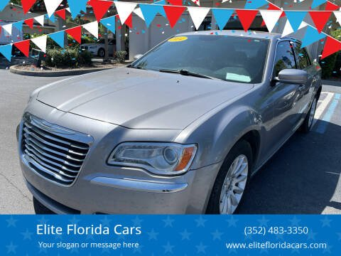 2014 Chrysler 300 for sale at Elite Florida Cars in Tavares FL