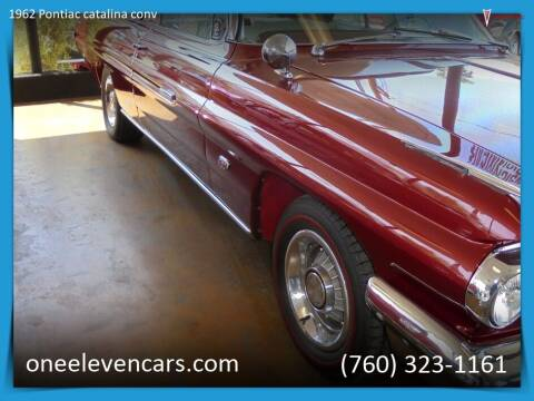 1962 Pontiac catalina conv for sale at One Eleven Vintage Cars in Palm Springs CA