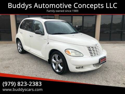 2003 Chrysler PT Cruiser for sale at Buddys Automotive Concepts LLC in Bryan TX