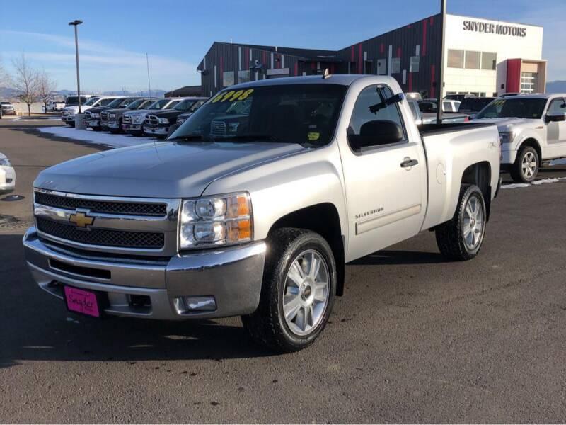 2013 Chevrolet Silverado 1500 for sale at Snyder Motors Inc in Bozeman MT
