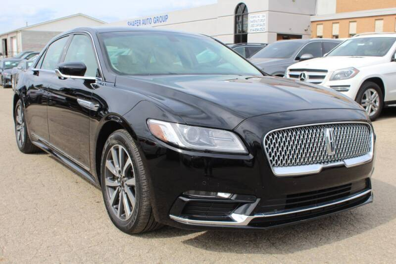 2017 Lincoln Continental for sale at SHAFER AUTO GROUP in Columbus OH