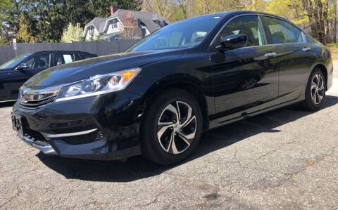 2016 Honda Accord for sale at Beverly Farms Motors in Beverly MA