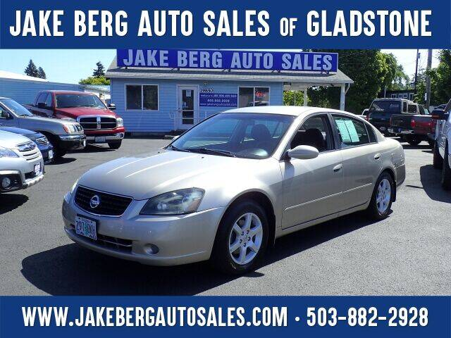 2005 Nissan Altima for sale at Jake Berg Auto Sales in Gladstone OR